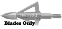 MX3 100gr blades